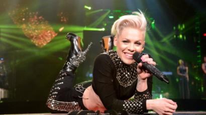 Bár idén nem nyert Grammy-díjat, mégis Pink kapta a legmenőbb trófeát
