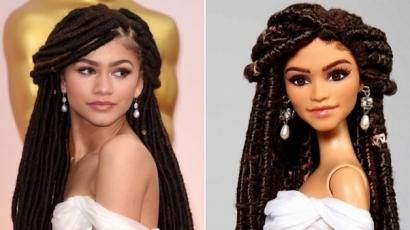 Barbie babát mintáztak Zendayáról