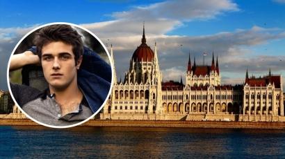"""Beau Mirchoff: """"Budapest a bolygónk egyik legklasszabb városa"""""""