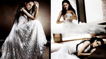 Bella menyasszonyi ruhája már készül