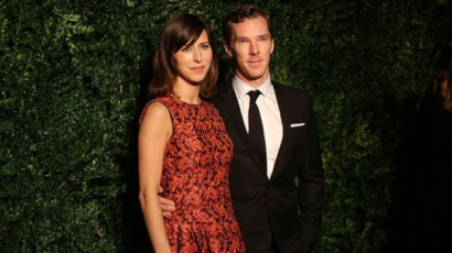 Benedict Cumberbatch Tahitin töltötte mézesheteit