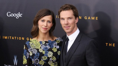 Benedict Cumberbatch Valentin-napon nősül