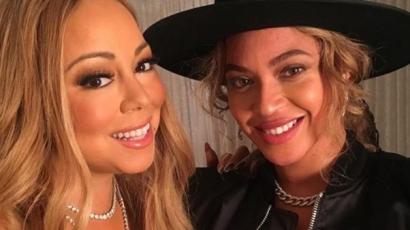 Beyoncé is jelen volt Mariah Carey karácsonyi koncertjén