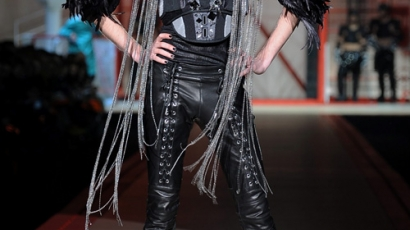 Bill Kaulitz tarolt a Dsquared2 bemutatóján