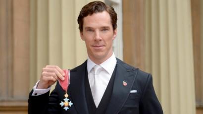 Birodalmi kitüntetést vehetett át a Sherlock sztárja