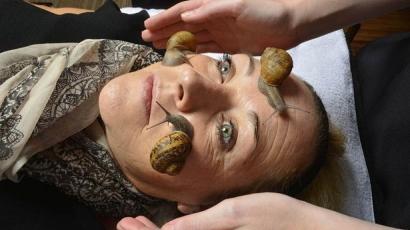 Bizarr! Csigákkal szépülnek a britek