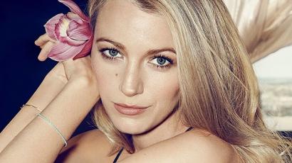 Blake Lively a Marie Claire főcímlapján tündököl + exkluzív interjú