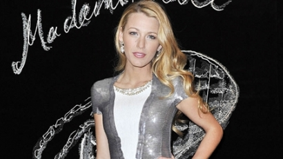 Blake Lively mint Mademoiselle Chanel