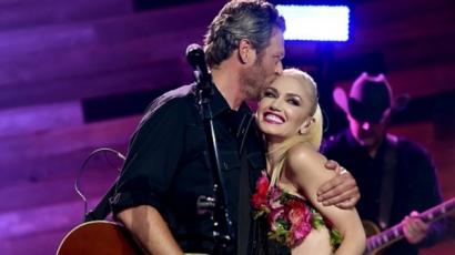 Blake Shelton számára Gwen Stefani a nagy Ő