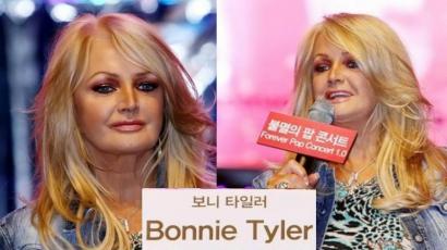 Bonnie Tyler tarolt Koreában