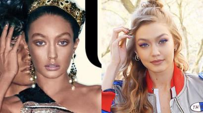 Botrány! Fekete nőként ábrázolta a Vogue Gigi Hadidot?