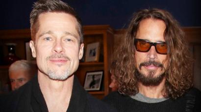 Brad Pitt a szárnyai alá vette a néhai Chris Cornell gyerekeit
