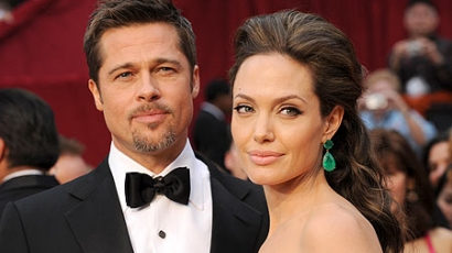 """Brad Pitt: """"Angelina még mindig egy rossz kislány"""""""