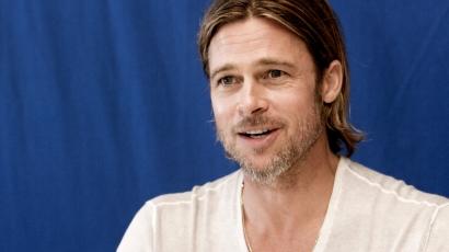 Brad Pitt leszokott a cigiről