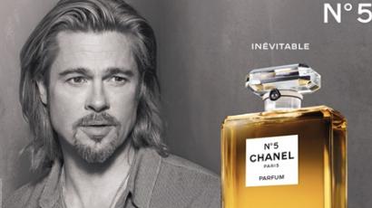 Brad Pitt reklámozza a Chanel egyik legnépszerűbb illatát