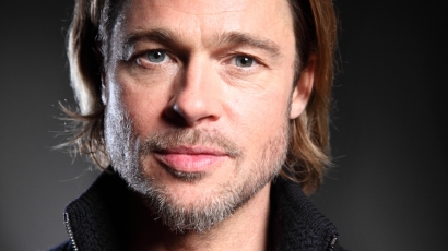 Brad Pitt végre találkozhatott a gyerekeivel