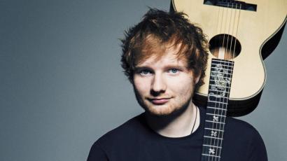 Bréking! Ed Sheeran a Szigeten