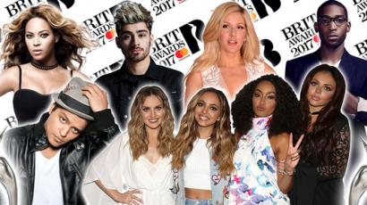 Brit Awards 2017: Megvannak a jelöltek!