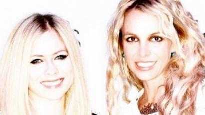 Britney Spearsszel bulizott Avril Lavigne