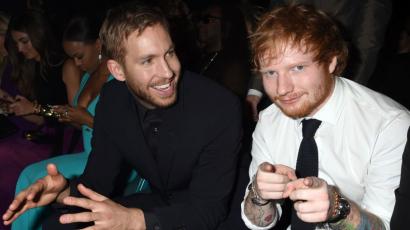 Calvin Harris berágott Ed Sheeranra