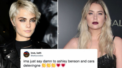 Cara Delevingne most már Ashley Bensonnel randizik
