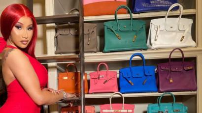 Cardi B megkérdezte rajongóit, hogy megvegyen-e egy táskát 26 millió forintért