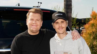 Carpool Karaoke: Justin Bieber negyedszer énekelt James Corden autójában