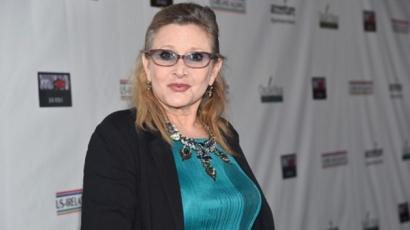Carrie Fisher szívrohamot kapott