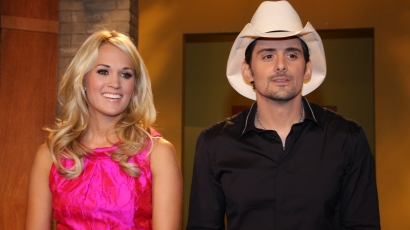 Carrie Underwood Brad Paisley-vel dolgozik