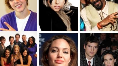 A legjótékonyabb hírességek