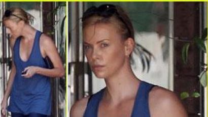 Charlize Theron smink nélkül is csodaszép