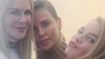 Charlize Theron úgy imádja kolléganőit, hogy legszívesebben járna velük
