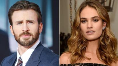 Chris Evans és Lily James egy pár?