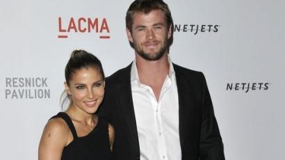 Chris Hemsworth és Elsa Pataky egybekeltek