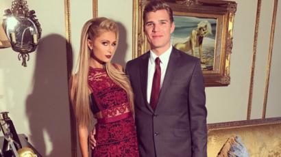 Chris Zylka magára tetotváltatta Paris Hilton nevét