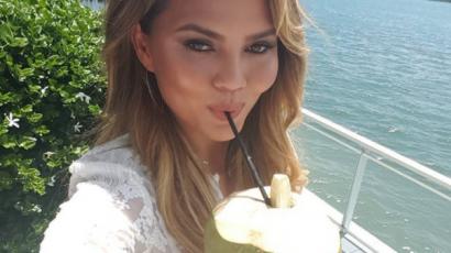 Chrissy Teigen alkoholproblémákkal küzd