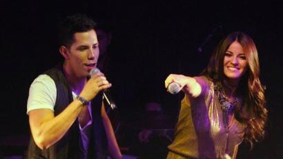 Christián Chávez Maite Perronival duettezett
