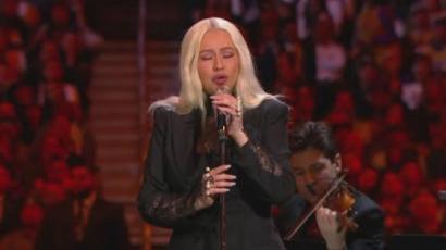 Christina Aguilera, Alicia Keys és Beyoncé is fellépett Kobe és Gianna Bryant emlékünnepségén