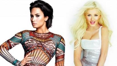 Christina Aguilerát utánozta Demi Lovato