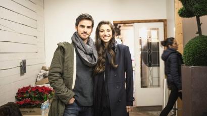 Colin O'Donoghue-val romantikázik Christina Perri az új klipjében
