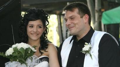 Csifó Dorina férjhez ment