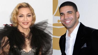 Csókkal lepte meg Drake-et Madonna