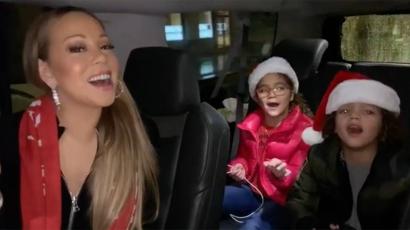 Cuki! Háttérénekeseket faragott ikreiből Mariah Carey