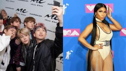 Dalpremier: BTS & Nicki Minaj – Idol! + Taylor Swiftet letaszították a trónról
