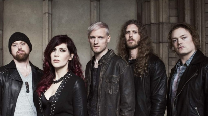 Dalpremier: Delain & Marco Hietala - Your Body Is A Battleground