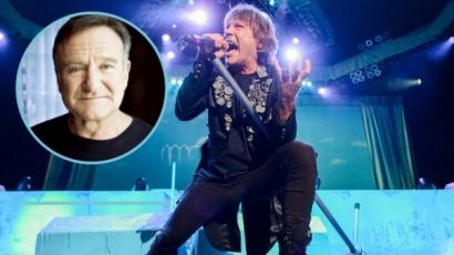 Dalt írt Robin Williams emlékére az Iron Maiden