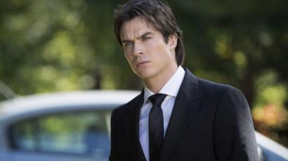 Damon Salvatore szerepe faragott férfit Ian Somerhalderből