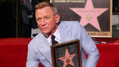 Daniel Craig csillagot kapott – fotók!