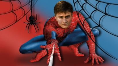 Daniel Radcliffe szívesen lett volna Pókember