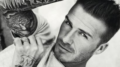 David Beckham az év legdögösebb férfija